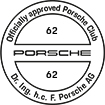 Officially approved Porsche Club 62